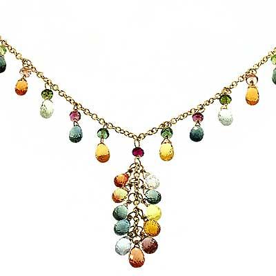 View Tourmaline Necklace