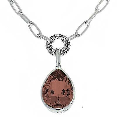 View Smokey Quartz & Diamond Necklace