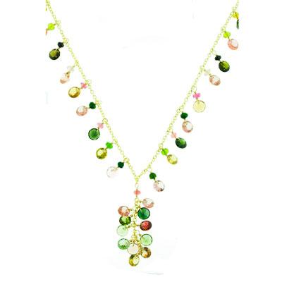 View Multi Tourmaline Necklace