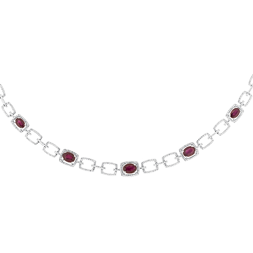 View Ruby and Diamond Necklace