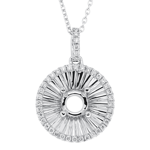 View Fancy Diamond Pendant With Chain
