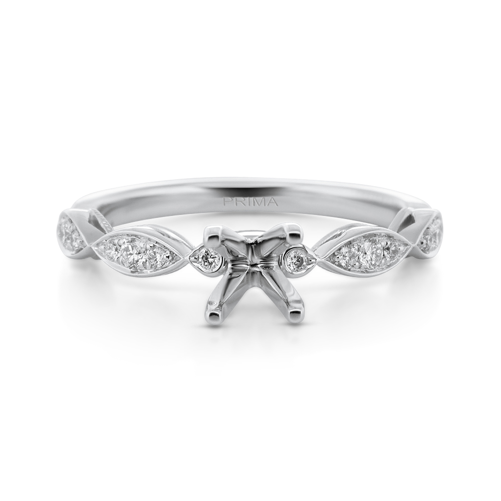 View Diamond Engagement Ring For 0.50ct Center