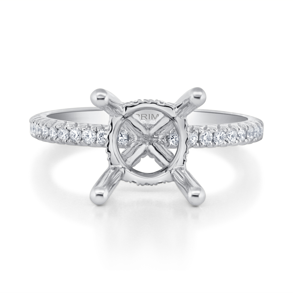 View Diamond Engagement Ring For 2ct Center